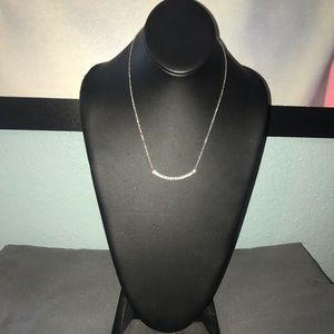 Cute silver necklace